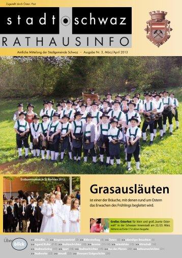 PDF Rathausinfo Nr. 03/2013 - Schwaz