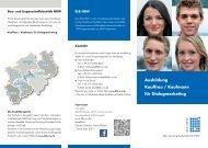 Ausbildung Kauffrau / Kaufmann für Dialogmarketing - Bau