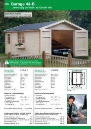 Garagen, Geräteschränke, Kinderhäuser ... - Schweitzer Holz