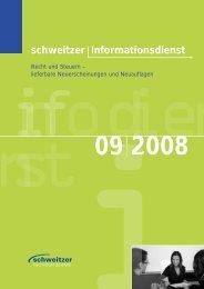 schweitzer Informationsdienst