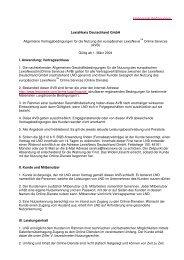 LexisNexis Deutschland GmbH Allgemeine Vertragsbedingungen ...