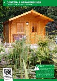 Satteldachhäuser 28-70 mm - Schweitzer Holz