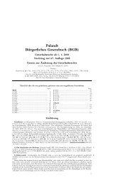 Palandt Bürgerliches Gesetzbuch (BGB)