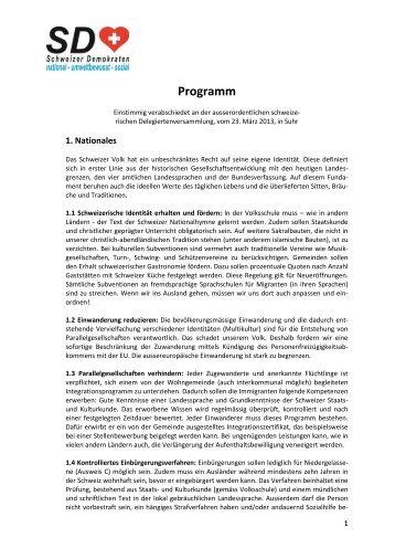 als .pdf runterladen - Schweizer Demokraten SD