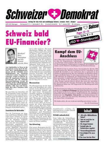 Umbruch Januar - Schweizer Demokraten SD