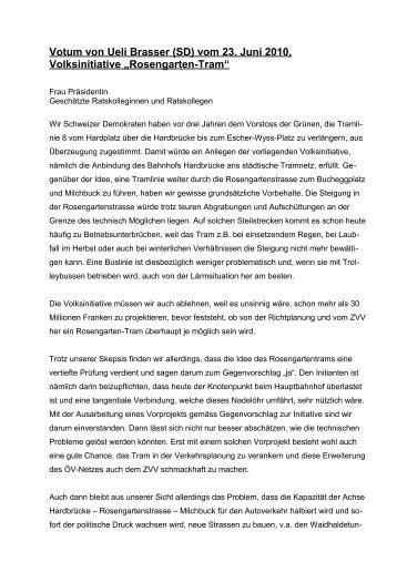 lesen - Schweizer Demokraten SD