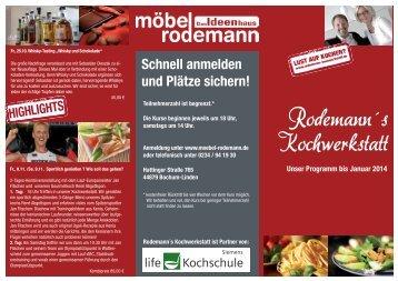 Rodemann´s Kochwerkstatt - Swiss Feinkost Catering