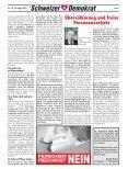 Nein zur Ost-Zuwanderung - Schweizer Demokraten SD - Page 5