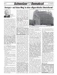 Volksrechte stärken! - Schweizer Demokraten SD - Page 6