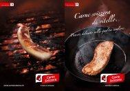 """Brochure """"Carne svizzera di vitello"""" - Schweizer Fleisch"""