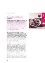 Viande Information 2/99 - Schweizer Fleisch