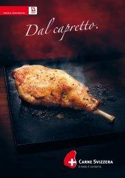 Brochure Â«Dal capretto - Schweizer Fleisch