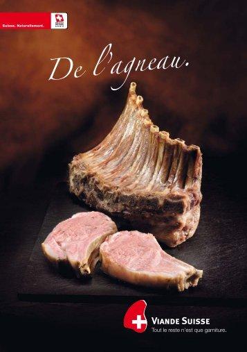 De l'agneau. - Schweizer Fleisch