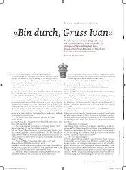 Schweizerische Weinzeitung - Selection Schwander