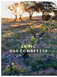 LE PIC DES COMBETTES - Schweizerische Weinzeitung
