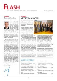 MedienManager - Verband Schweizer Presse