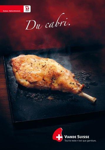 """Brochure """"Du cabri"""" - Schweizer Fleisch"""
