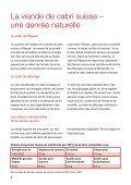"""Brochure """"Du cabri"""" - Schweizer Fleisch - Page 6"""