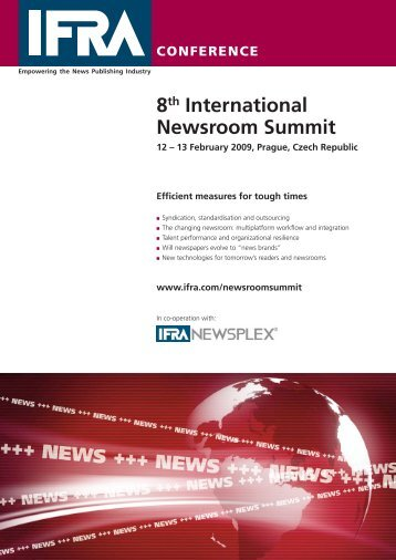 8th International Newsroom Summit - Verband Schweizer Presse