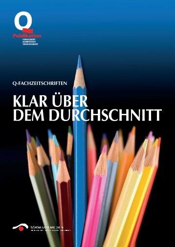 Factsheet 2013 Aktuelle Q-Publikationen für 2012 - Verband ...