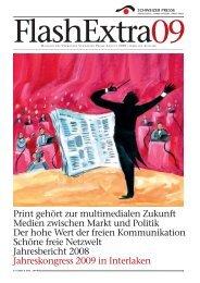 FLASHextra Inhalt - Verband Schweizer Presse