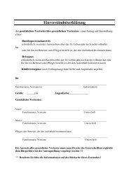 Einverständniserklärung Personalausweis - Schwelm