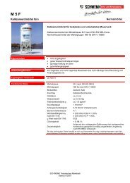Technisches Merkblatt - SCHWENK Baustoffe AG