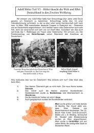 Hitler täuscht die Welt und führt Deutschland in den Zweiten Weltkrieg