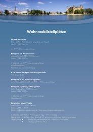 Wohnmobilstellplätze (pdf) - Schwerin