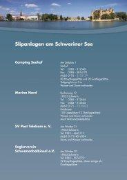 Slipanlagen am Schweriner See Camping Seehof