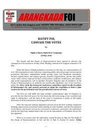 ARANGKADAFOI - Philippine Center for Investigative Journalism