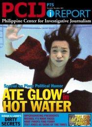 01 political satire cover.indd - Philippine Center for Investigative ...