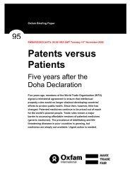 patents versus patients - Philippine Center for Investigative Journalism