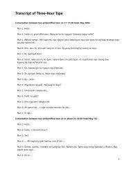 Transcript of Three-Hour Tape