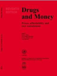 Drugs and Money - World Health Organization