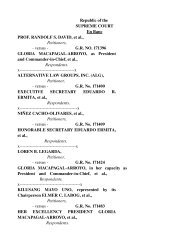 Republic of the SUPREME COURT En Banc PROF - Philippine ...