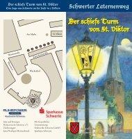 Der schiefe Turm von St. Viktor