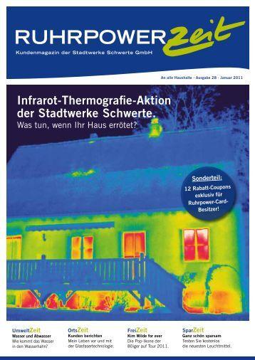 Infrarot-Thermografie-Aktion der Stadtwerke ... - Stadt Schwerte