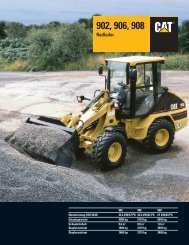 Radlader CAT 906