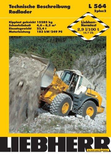 Liebherr L 564 2p2 - Marzi-Baumaschinen.de