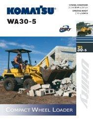 Komatsu WA30-5 Broch6_01.qxd - Equipment Central