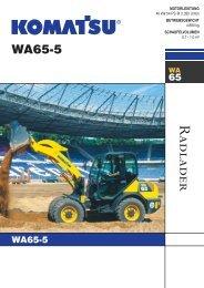 WA65-5 - komatsu europe