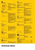 Offizielles Datenblatt, PDF - Marzi-Baumaschinen.de - Page 2