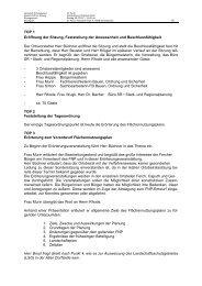 Erörterung Ferch - Gemeinde Schwielowsee