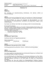 Niederschrift zur Sitzung Nr. 02/2006 am 29.03 - Gemeinde ...