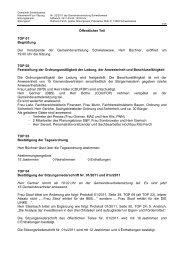 Öffentlicher Teil TOP 01 Begrüßung Der Vorsitzende - Gemeinde ...