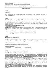 Öffentlicher Teil - Gemeinde Schwielowsee