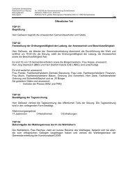 Niederschrift zur Sitzung Nr. 06/2008 am 27.10.08 - Gemeinde ...