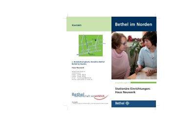 Haus Neuwerk Kontakt: Bethel im Norden