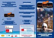 "3. INTERNATIONALES MEETING ""MASTER ShARk"" Wettkampfregeln"